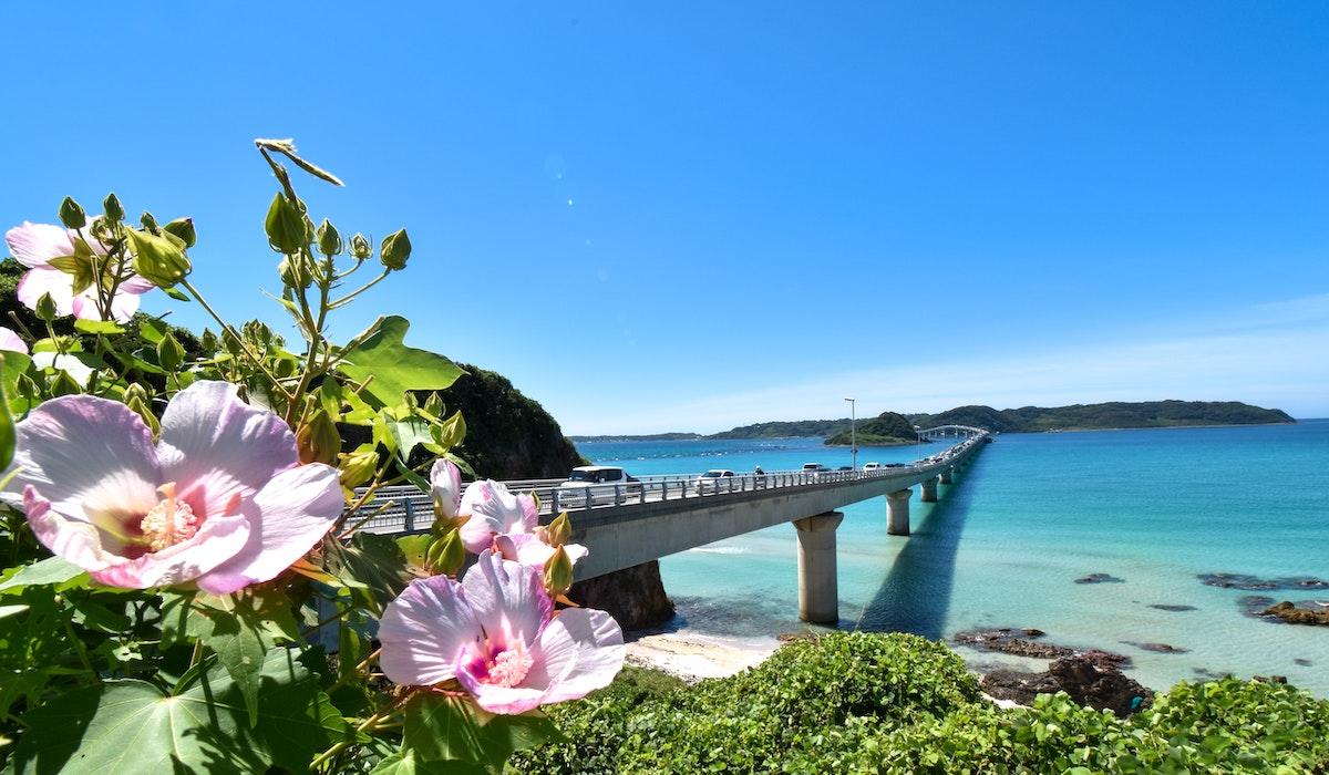角島大橋のイメージ