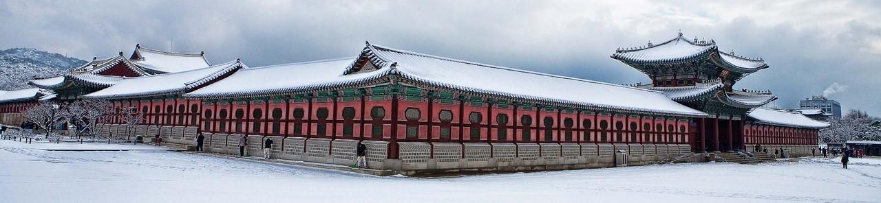 韓国ソウル 景福宮 光化門