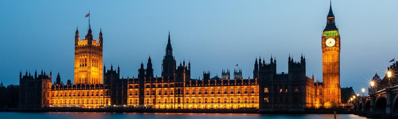 ロンドン 国会議事堂 ビッグベン